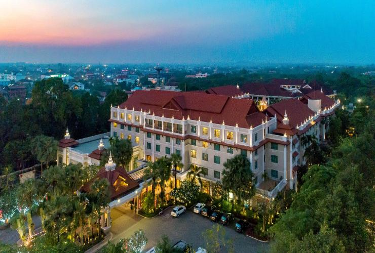 Sokha Angkor Hotel, Siem Reap (5 Stars Hotel in Downtown Area)